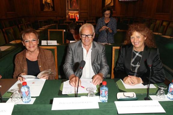 Claudine-Junien-Prof-Bernard-Roques-Prof-Catherine-Llorens-Cortes