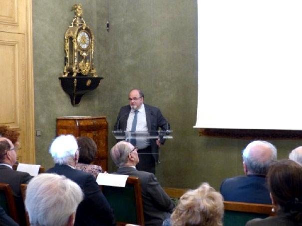 Le lauréat, le Professeur Albert Hagège