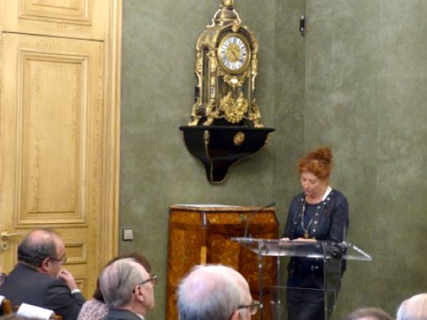 Docteur Catherine Llorens-Cortes, Présidente du Conseil Scientifique et lauréate du Prix Danièle Hermann 2012