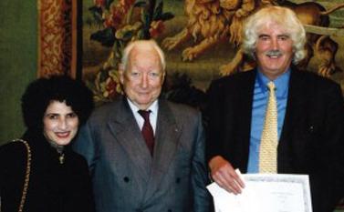 Remise du prix Prix Danièle Hermann 2003 - Alan Nurden