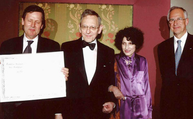 Remise du prix Prix Danièle Hermann 2005 - Emmanuel Van Obberghen