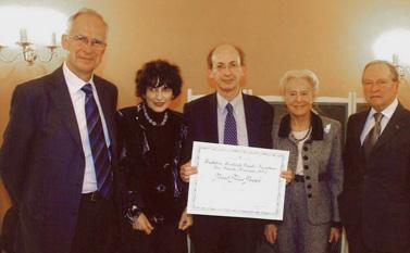 Remise du prix Prix Danièle Hermann 2006 - Philippe Menasché