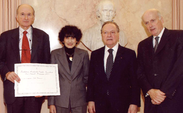 Remise du prix Prix Danièle Hermann 2007 - Joël Ménard Michel