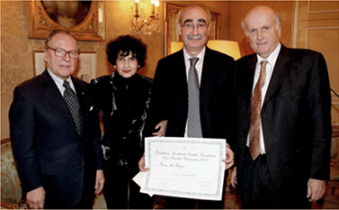 Remise du prix Prix Danièle Hermann 2008 - Alain Tedgui