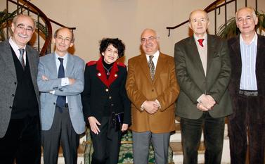 Remise du prix Prix Danièle Hermann 2010 - Professeur Daniel Duveau