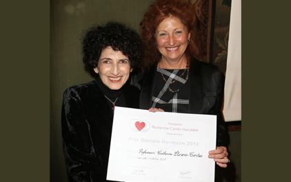 Remise du prix Prix Danièle Hermann 2012 - Catherine Llorens-Cortes