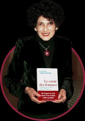 Danièle Hermann, présidente et fondateur de la fondation recherche cardio-vasculaire